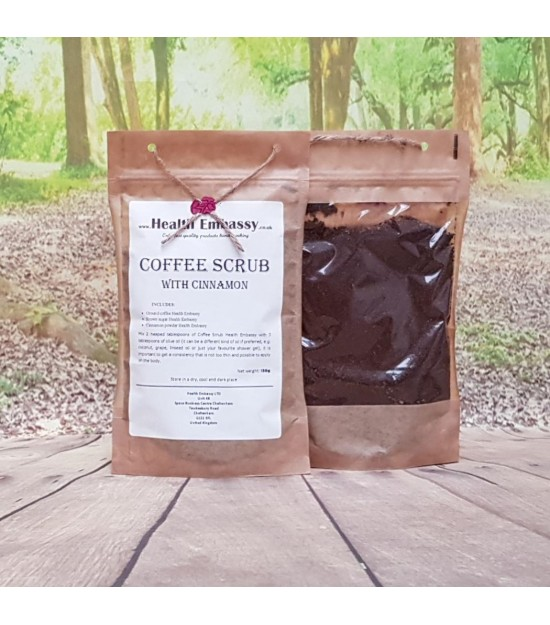 Coffee Scrub with Cinnamon 150 g