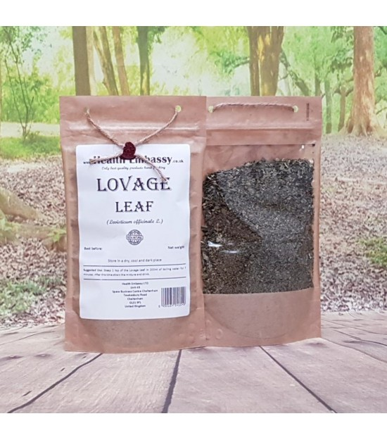Lovage Leaf Tea (Levisticum officinale)