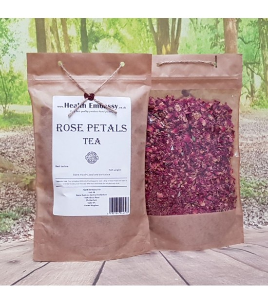 Rose Dried Petals Tea (Rosa L.)