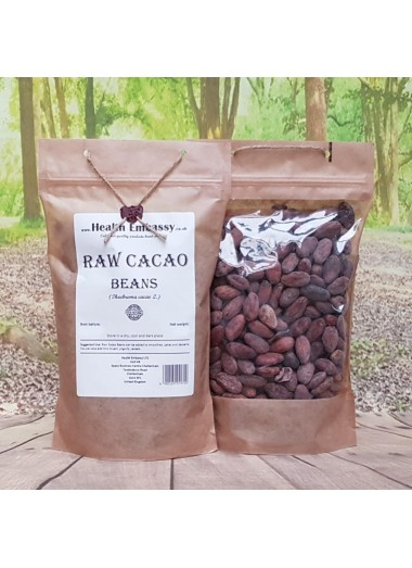 Raw Cacao Beans (Theobroma cacao L.)