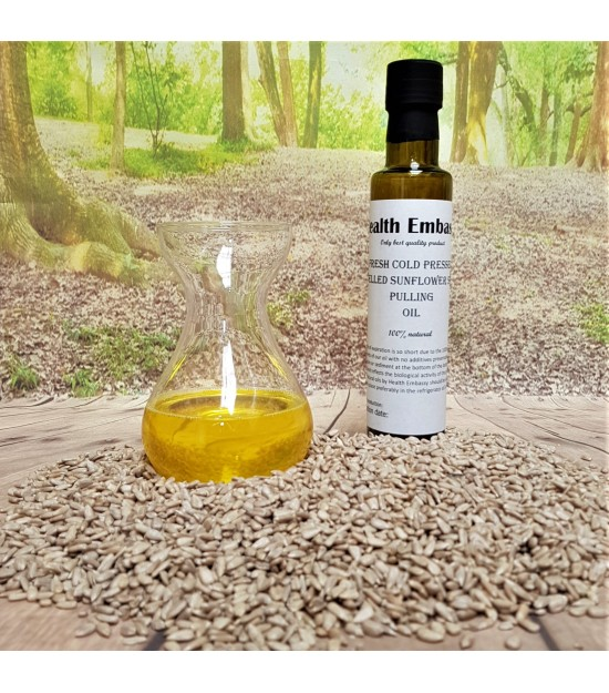 Fresh Cold Pressed Shelled Sunflower Seed Pulling Oil (Helianthus L.)